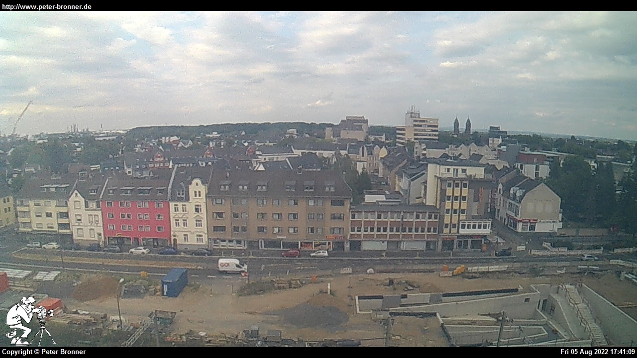 Peters Webcam in Wesseling mit Blick auf die B9. Webcam 3